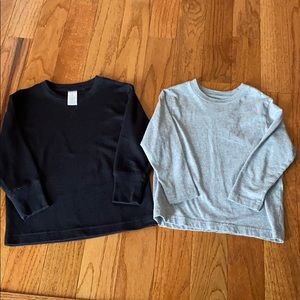 Two children's place long sleeve tees